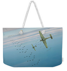 Weekender Tote Bag featuring the photograph The Few by Gary Eason