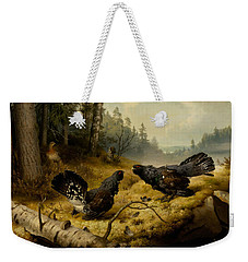 The Fighting Capercaillies Weekender Tote Bag