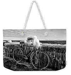 The Frozen Bike Weekender Tote Bag