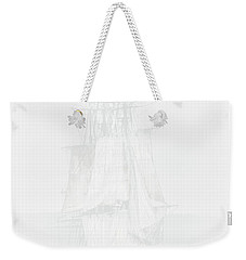 The Ghost Ship Weekender Tote Bag by David Patterson