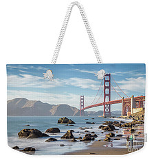 The Golden Gate Weekender Tote Bag by JR Photography