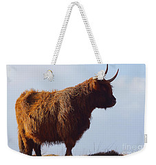 The Highland Cow Weekender Tote Bag