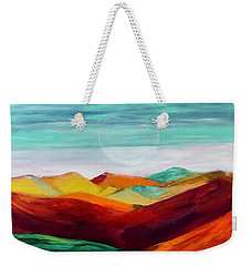 The Hills Are Alive Weekender Tote Bag by Kim Nelson