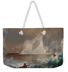 The Icebergs Weekender Tote Bag