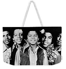 The Jackson 5 Collection Weekender Tote Bag by Marvin Blaine