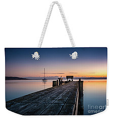 The Jetty To Sunset Weekender Tote Bag