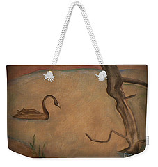 The Lake Weekender Tote Bag by Elizabeth Fontaine-Barr