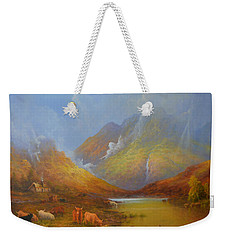 The Little Croft In The Scottish Highlands Weekender Tote Bag by Joe Gilronan