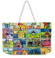 The Little Houses Weekender Tote Bag