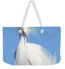 The Look Weekender Tote Bag by Fraida Gutovich