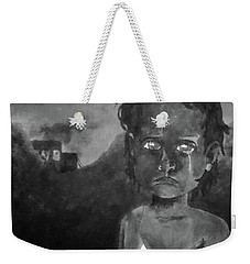 Weekender Tote Bag featuring the digital art The Lost Children Of Aleppo by Joseph Hendrix