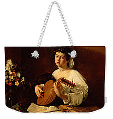 The Lute-player Weekender Tote Bag by Caravaggio