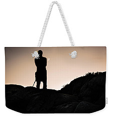 The Man And The Moon Weekender Tote Bag