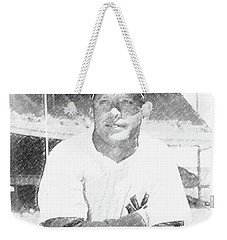 Mickey Mantle Weekender Tote Bag
