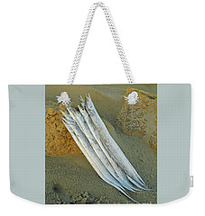 The Offering Weekender Tote Bag by Joe Jake Pratt