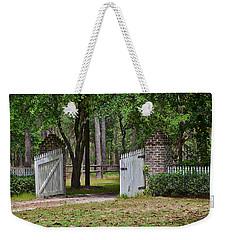 The Open Gate Weekender Tote Bag