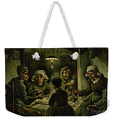 The Potato Eaters, 1885 Weekender Tote Bag by Vincent Van Gogh