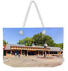 The Railroad Station In Scarsdale Weekender Tote Bag