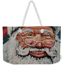 The Real Santa Weekender Tote Bag