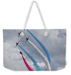 The Red Arrows Weekender Tote Bag by Nichola Denny