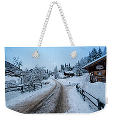 Weekender Tote Bag featuring the photograph The Scene- by JD Mims