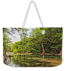 The Scenic Guadalupe River Weekender Tote Bag