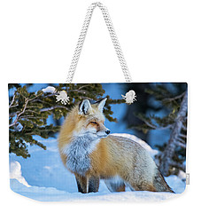 The Snow Beauty Weekender Tote Bag