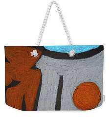 The Weight Of Time Weekender Tote Bag
