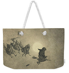 The Witches' Ride Weekender Tote Bag