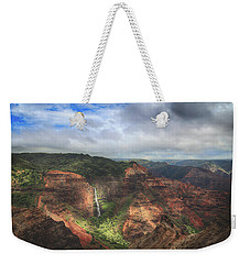 There Are Wonders Weekender Tote Bag by Laurie Search