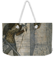 Theseus And The Minotaur In The Labyrinth Weekender Tote Bag by Edward Burne-Jones