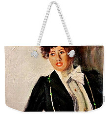 Thinking Of You  Weekender Tote Bag by Cristina Mihailescu