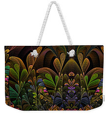 This Peculiar Life - Fractal Art Weekender Tote Bag by NirvanaBlues