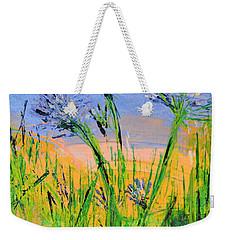 Thistles One Weekender Tote Bag