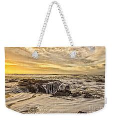Thor's Well Weekender Tote Bag