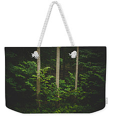 Weekender Tote Bag featuring the photograph Three by Shane Holsclaw