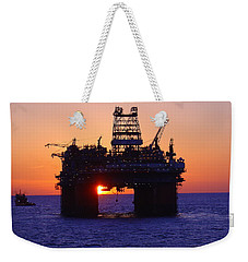 Thunder Horse At Sunset Weekender Tote Bag