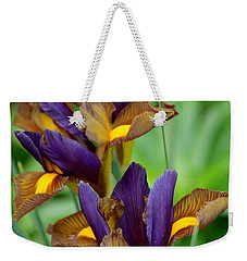 Tiger Irises Weekender Tote Bag