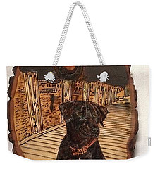 Timber Weekender Tote Bag