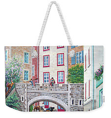 Weekender Tote Bag featuring the photograph Time ... by Juergen Weiss