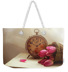 Weekender Tote Bag featuring the photograph Time Stood Still by Amy Weiss