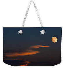 To The Moon Weekender Tote Bag