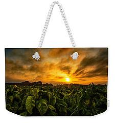 Tobacco Sunrise  Weekender Tote Bag