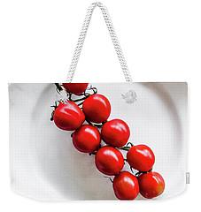 Tomatoes Weekender Tote Bag by Cesar Vieira