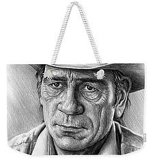 Tommy Lee Jones Weekender Tote Bag