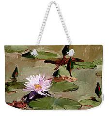 Tomorrow's Blooms- Water Lilies Weekender Tote Bag