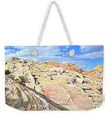 Top Of The World At Valley Of Fire Weekender Tote Bag