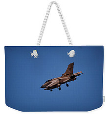 Weekender Tote Bag featuring the photograph Tornado, 25 Years In Operation by Shirley Mitchell