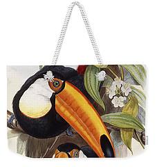 Toucan Weekender Tote Bag by John Gould