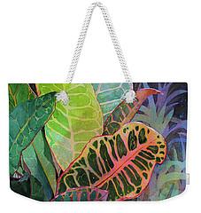 Weekender Tote Bag featuring the painting Trailblazers by Kris Parins